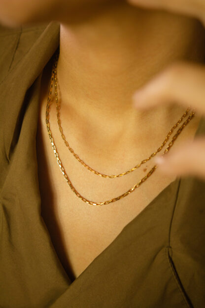 The Skinny Necklace Long in combination
