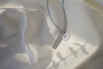 Circe White Customizable Necklace