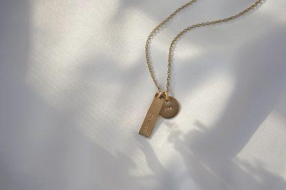 Circe Gold Customizable Necklace