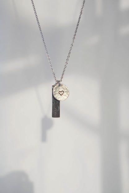 Circe Silver Customizable Necklace